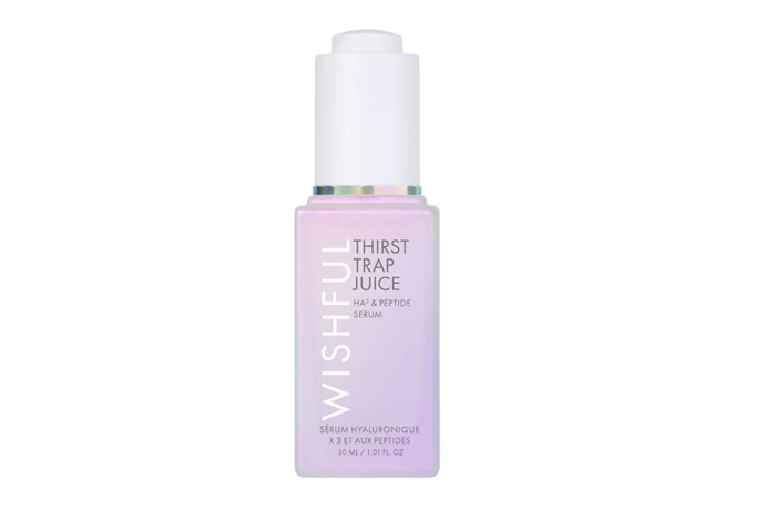 """**Thirst Trap Juice HA3 & Peptide Skincare Serum by Wishful, $72 at [Sephora](https://go.skimresources.com?id=105419X1569491&xs=1&url=https%3A%2F%2Fwww.sephora.com.au%2Fproducts%2Fwishful-thirst-trap-juice-ha3-and-peptide-skincare-serum%2Fv%2F30ml