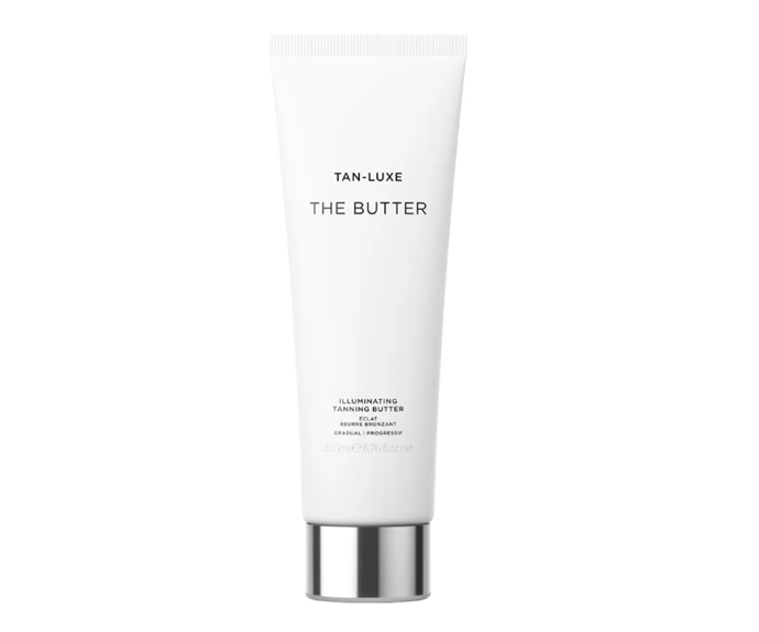"""**The best butter: The Butter Self-Tanner by Tan-Luxe, $45 at [Sephora](https://go.skimresources.com?id=105419X1569491&xs=1&url=https%3A%2F%2Fwww.sephora.com.au%2Fproducts%2Ftan-luxe-the-butter-self-tanner%2Fv%2F200ml