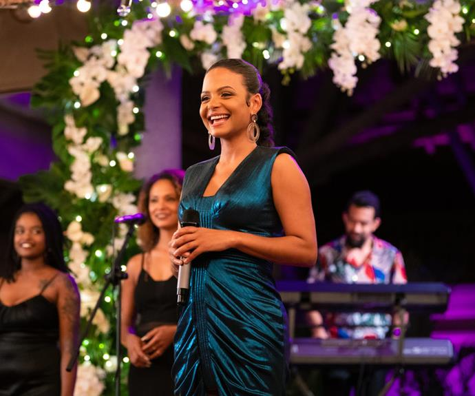 """***Resort To Love*** <br><br> Okay rom-com lovers, this one is a must-watch. When an aspiring singer suffers heartbreak, she escapes her life by taking a gig at a tropical resort that seems like paradise... """"until two unexpected guests arrive."""" There's also a pretty impressive team behind the flick, including Alicia Keys as producer and Christina Milian as its lead. Sign. Us. Up!  <br><br> Released on: July 29."""