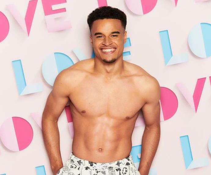 """**Toby Aromolaran** <br><br> While Toby, a 22-year-old footballer from Essex might look the part, he admits he's never been in a relationship. """"I thought 'If *Love Island* can't find me a relationship then no-one can',""""he says. <br><br> Instagram: [@tobyaromoloaran](https://www.instagram.com/tobyaromolaran/