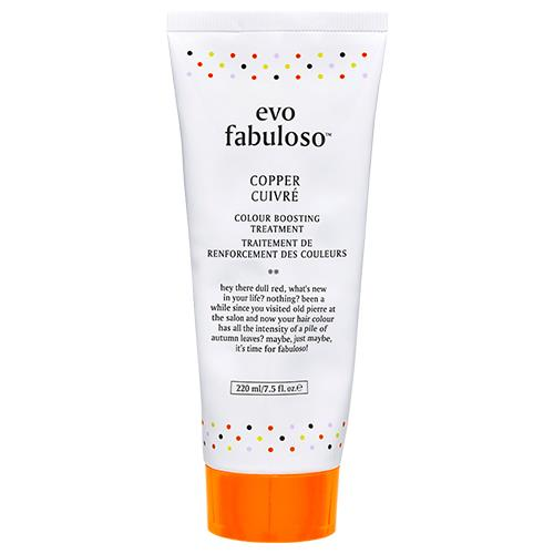 """Copper Colour Boosting Treatment by evo fabuloso, $39.95 at [Adore Beauty](https://fave.co/3h2UQSJ