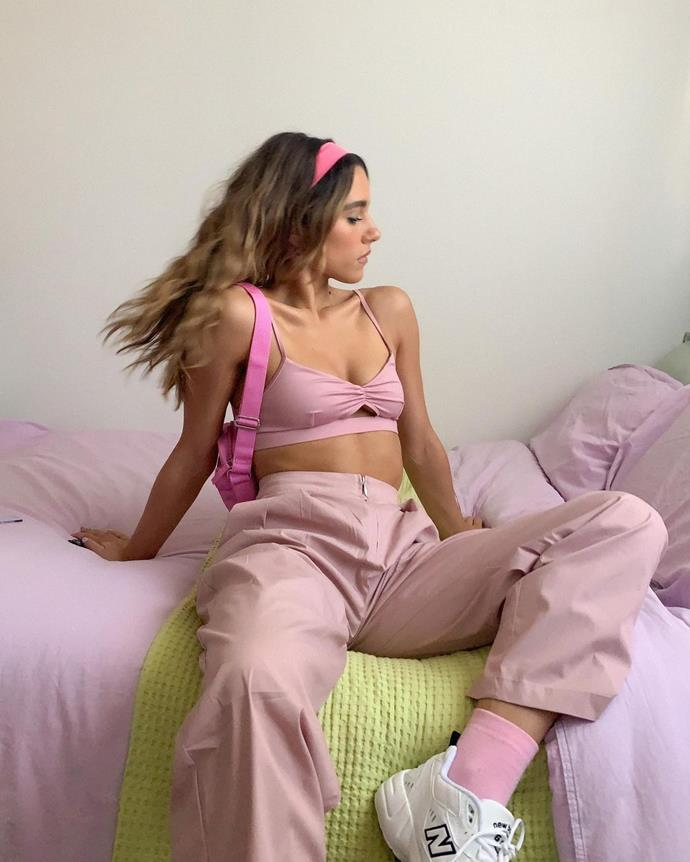 """**Embrace Colourful Bedsheets**<br><br>  This bedroom update idea comes from Melbourne-based fashion Instagram influencer Maxine Wylde ([@__mmaxinewylde](https://www.instagram.com/__mmaxinewylde/ target=""""_blank"""" rel=""""nofollow"""")), and that is changing your bedsheets. Unexpected colours aren't off-limits either, Wylde is known for her tonal lavender and lime outfits and they definitely inspired her on a trip to the bed linen section.<br><br>  Likewise, if there's a colour you gravitate to in your outfits, why not use it as bedroom inspiration? Add a blanket in a complementary or contrasting colour for extra vibes."""