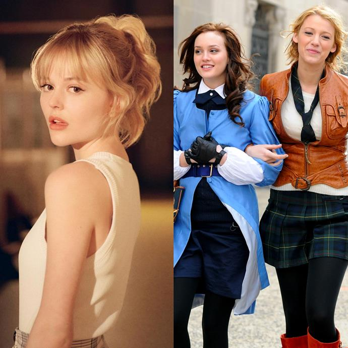 """**Audrey Hope as Serena van der Woodsen (with a hint of Blair Waldorf)** <br><br> The 'golden child' out of the entire group, Audrey Hope (played by Emily Alyn Lind) is a clear representation of Serena van der Woodsen. And while we hope that she doesn't take on [Serena's mean girl streak](https://www.elle.com.au/culture/serena-worst-character-gossip-girl-24621