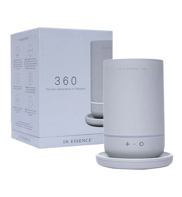"""*In Essence 360 Diffuser, $199.95 (currently on sale for $170) from [Oil In Kind](https://go.skimresources.com?id=105419X1569491&xs=1&url=https%3A%2F%2Foilinkind.com%2Fcollections%2Fdiffusers%2Fproducts%2Fcopy-of-geo-design-diffuser-white-ceramic-1 target=""""_blank"""" rel=""""nofollow"""").*"""