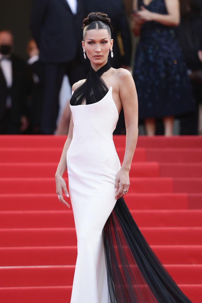 Bella Hadid in Jean Paul Gaultier