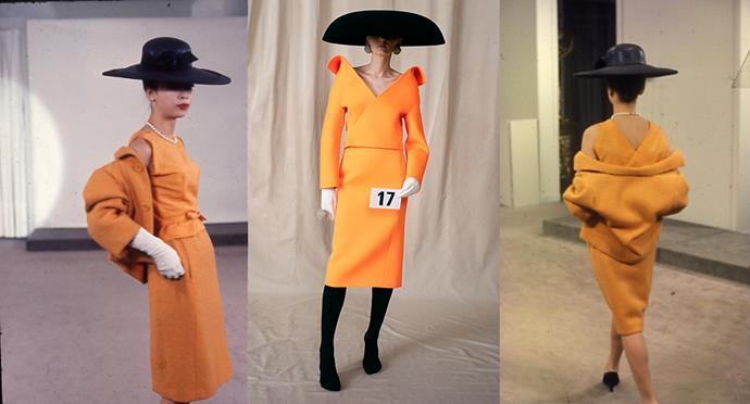 *Balenciaga Archives photographed by Thomas Kublin, Balenciaga Haute Couture 2021.*