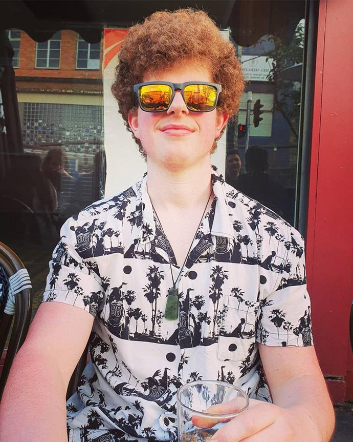 """*Geek:* **Sam Ready** <br><br> A 23-year-old from Victoria, Sam works at his local grocery store and is nicknamed Napoleon Dynamite because of his vibrant and curly red hair. <br><br> *Instagram: [@sam_ready_](https://www.instagram.com/sam_ready_/ target=""""_blank"""" rel=""""nofollow"""")*"""
