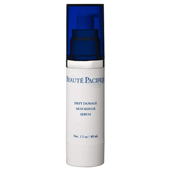 """**Beauté Pacifique Defy Damage Skin Repair Serum, $80 at [[Adore Beauty](https://www.adorebeauty.com.au/beaute-pacifique/beaute-pacifique-defy-damage-skin-repair-lotion-40ml.html