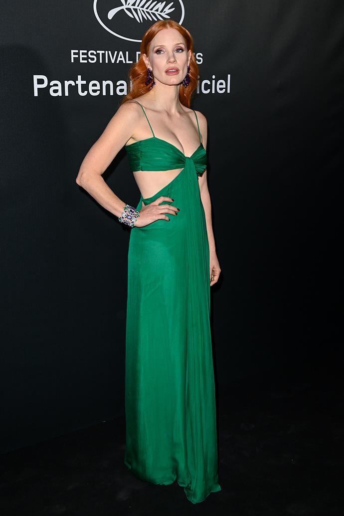 Jessica Chastain in Valentino