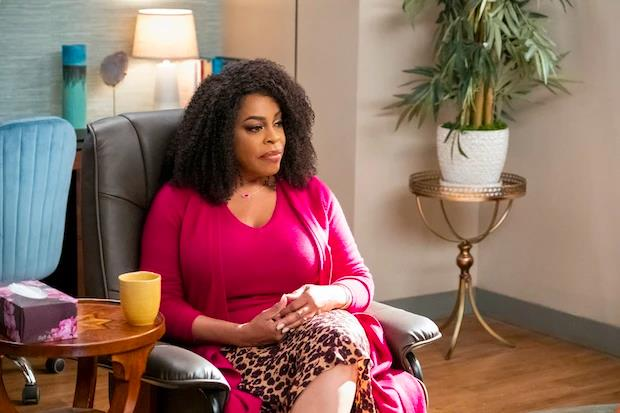 **Niecy Nash as Dr. Jamie Ryan** <br><br> Dr. Jamie Ryan is Devi's therapist, who she turned to for help coping with the death of her father, Mohan. <br><br> Niecy has previously starred as Raineesha Williams in *Reno 911!*, Denise 'DiDi' Ortley in *Getting On* and in *The Soul Man*, *Scream Queens, Selma, When They See Us* and *Mrs. America*.