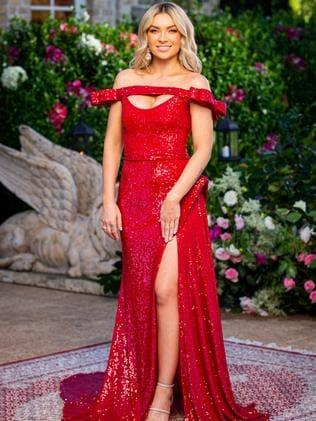 "Tahnee wears a dress from [Duchess Boutique](https://www.duchessboutique.com.au/ target=""_blank"" rel=""nofollow"")."