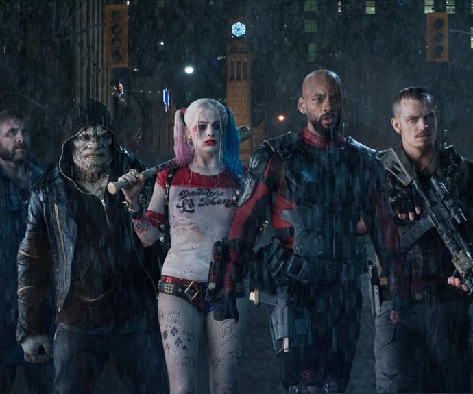 ***Suicide Squad*** <br><br> Calling all Margot Robbie fans! *Suicide Squad* will be readily available to watch at your beck and call if you're after an action-packed edit. The film follows a group of imprisoned supervillains pulled together by the government in a search-and-destroy mission that'll grant them freedom.   <br><br> Released on: August 15