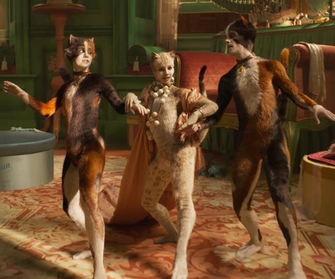 """***Cats*** <br><br> 'Twas a film that [truly divided](https://www.elle.com.au/culture/cats-movie-twitter-reactions-20884 target=""""_blank"""") fans of Andrew Lloyd Webber's famous musical, and there's no time like the present to revisit the iconic narrative. Enter the world of the Jellicles and be reminded that this was one of 2019's biggest talking points. You'll know why when you see it.  <br><br> Released on: August 28."""