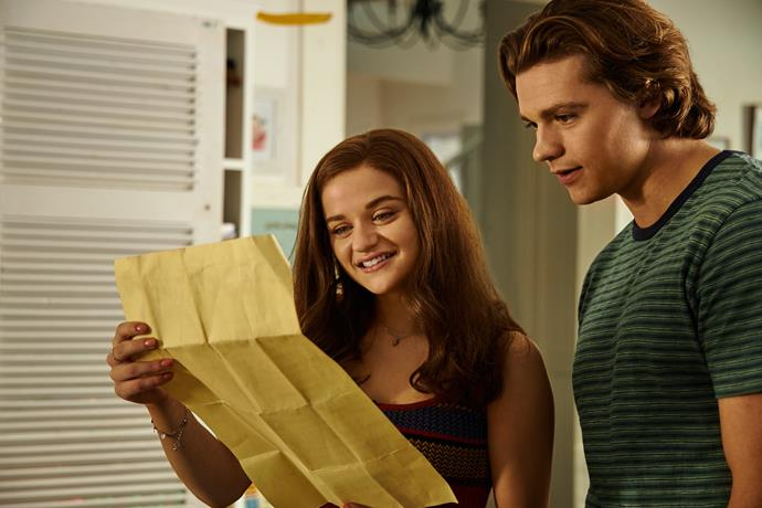 """***The Kissing Booth 3*** <br><br> Fans of the first and second film will finally learn whether Elle follows her head or her heart in the [third instalment of *The Kissing Booth*](https://www.elle.com.au/news/the-kissing-booth-3-25143 target=""""_blank""""). Will she move across the country with dream boyfriend Noah, or will she keep her promise to go to college with her bestie Lee? All will be revealed soon... <br><br> Released on: August 11"""