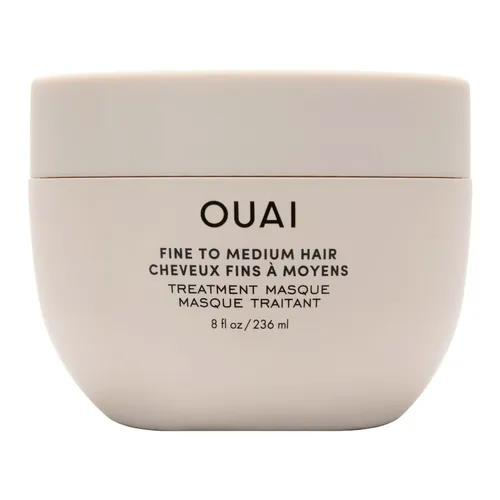 """**Fine To Medium Hair Treatment Masque by OUAI, $58 at [Sephora](https://fave.co/3iP6lN7 target=""""_blank"""" rel=""""nofollow"""")** <br><br> A cult-favourite for a reason, OUAI's restorative hair mask helps restore hydration, fight frizz, smooth split ends and strengthen fine to medium hair with shea butter, panthenol and hydrolysed keratin."""