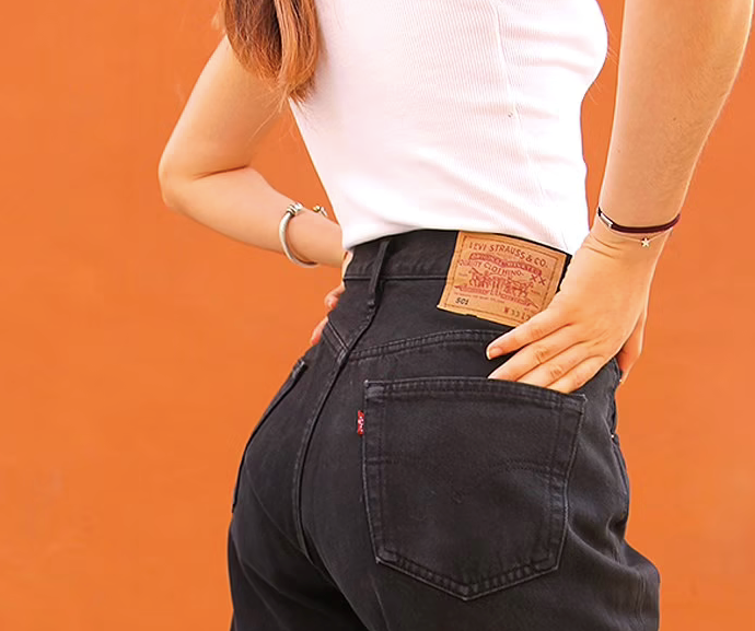 """**ASOS Marketplace** <br><br> Global shopping giant ASOS expanded its offering to a buy and sell platform several years ago, and we still love them for it. Here, you can shop hundreds of pre-loved denim styles for decent prices.  <br><br> **Shop the selection [here](https://marketplace.asos.com/women/jeans/vintage