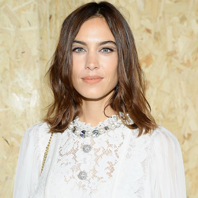 **Alexa Chung** <br><br> Alexa Chung may have access to the best perfumes that money can buy, but there's only one scent that she sticks to, year after year—Le Labo's cult-favourite Santal 33. The soft and smoky scent gained serious cult status from its unique, yet intoxicating blend of feminine iris and violet with gentle woods.