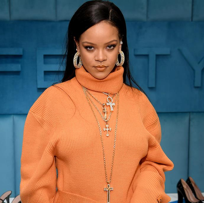 **Rihanna** <br><br> With famous faces like Jennifer Lawrence and André Leon Talley singing her scent praises, there's one reason why Rihanna is known for smelling so good—her perfume. The fragrance in question is actually 'Love, Don't Be Shy' by French boutique fragrance brand Kilian—a visceral sugar hit, the perfume holds aromas of orange, roses and marshmallow, with a delicate peppery overtone.
