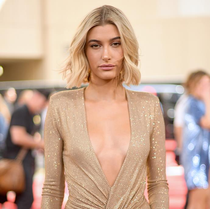 """**Hailey Bieber** <br><br> In an interview with *[ELLE Australia](https://www.elle.com.au/beauty/hailey-baldwin-beauty-secrets-7044