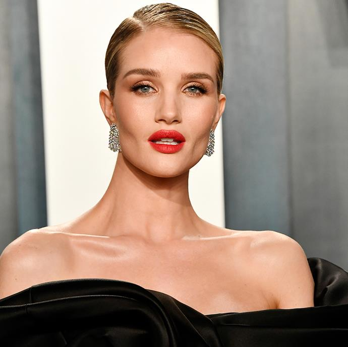 **Rosie Huntington-Whiteley** <br><br> For Rosie Huntington-Whiteley—and her beauty content platform, Rose Inc.—wellness and beauty products are highly curated and highly considered. As for her perfume pick, the supermodel opts for Byredo's 'Gypsy Water', the cult-favourite vanilla fragrance that is bound to appear in endless 'shelfies' around the globe.