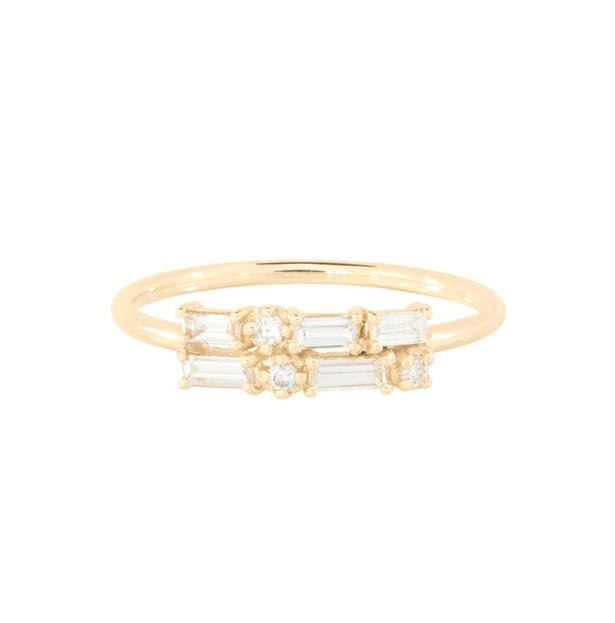 "Diamond Brickwork Ring, AUD $3114 at [Catbird NYC](https://fave.co/2VJEM0s|target=""_blank""|rel=""nofollow"")."