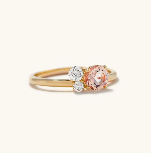 """Round Cut Ring, AUD $1570 at [Mejuri](https://fave.co/3fUpZqv