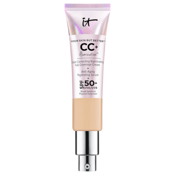 """**IT Cosmetics Your Skin But Better CC+ Cream Illumination SPF 50, $63 from** [Adore Beauty](https://www.adorebeauty.com.au/it-cosmetics/it-cosmetics-your-skin-but-better-cc-illumination-spf-50.html target=""""_blank"""" rel=""""nofollow"""")<br> This cult classic product is great for providing a decent amount of coverage and offering an incredible SPF50+ (along with working as a serum and primer). If you're looking for an all-in-one product, look no further."""