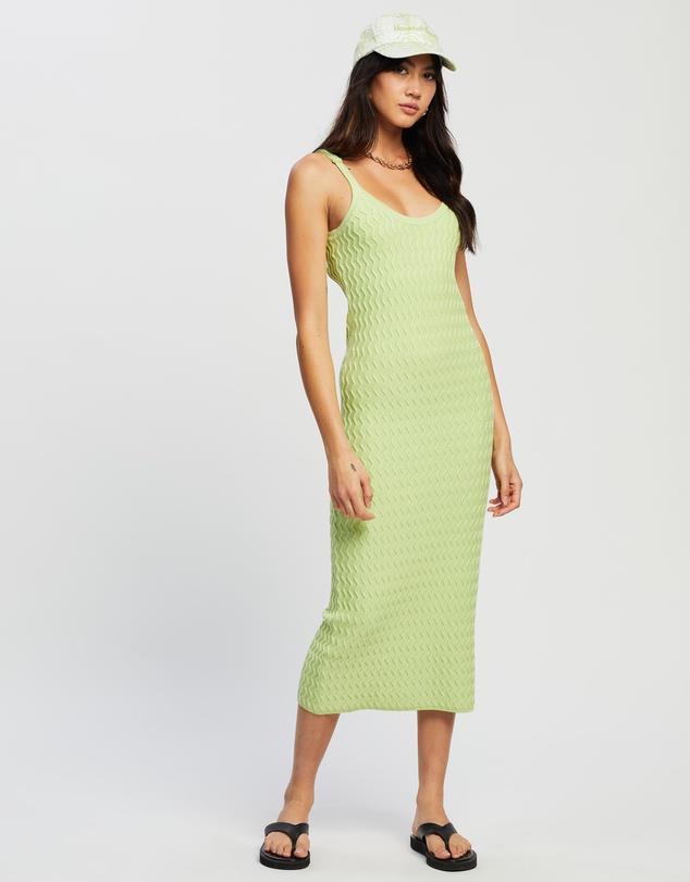 "Point Break Dress, $179.95 from [House Of Sunny](https://www.theiconic.com.au/point-break-dress-1223023.html target=""_blank"" rel=""nofollow"")"