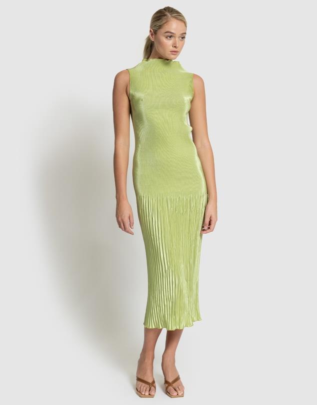 "Soirée Pleated Dress, $289 from [L'IDEE](https://www.theiconic.com.au/soiree-pleated-dress-1321020.html target=""_blank"" rel=""nofollow"")"