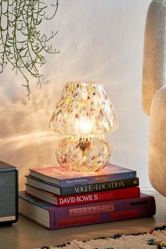 """Confetti Glass Table Lamp, $156 from [Urban Outfitters](https://au.urbanoutfitters.com/en-au/product/confetti-glass-table-lamp/UO-57522369-000