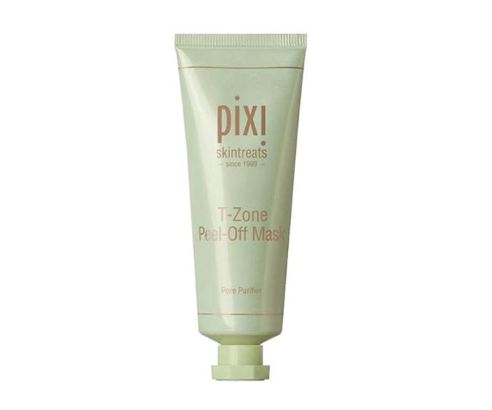 """**T-Zone Peel-Off Mask by Pixi, $38 at [Adore Beauty](https://go.skimresources.com?id=105419X1569491&xs=1&url=https%3A%2F%2Fwww.adorebeauty.com.au%2Fpixi%2Fpixi-t-zone-peel-off-mask.html target=""""_blank"""" rel=""""nofollow"""")**<br></br> A clarifying pale green option that even sensitive skin types can get in on occasionally, it stars a skin-soothing mix of avocado, aloe vera, green tea and cucumber. The name of its game? Drawing out impurities and firming the face (specifically as the name would suggest, in the T-zone)."""