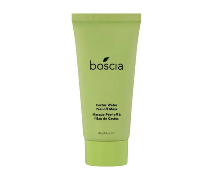 """**Cactus Water Peel-Off Mask by Boscia, $58 at [Sephora](https://go.skimresources.com?id=105419X1569491&xs=1&url=https%3A%2F%2Fwww.sephora.com.au%2Fproducts%2Fboscia-cactus-water-peel-off-mask%2Fv%2F80g target=""""_blank"""" rel=""""nofollow"""")**<br></br> Prepare to look like the chicest Shrek impersonator around; this lime-coloured mask pulls its shade from its namesake hero ingredient: the elusive 'Queen of the Night' cactus. What does this fancy cactus do in skincare speak, you ask? Hydrate, soothe and refresh like crazy."""
