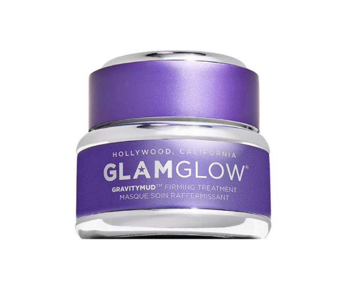 """**GravityMud Firming Treatment by GlamGlow, $26 at [Selfridges](https://go.skimresources.com?id=105419X1569491&xs=1&url=https%3A%2F%2Fwww.selfridges.com%2FAU%2Fen%2Fcat%2Fglamglow-gravitymud-firming-treatment-15g_475-81004877-G03H010000%2F target=""""_blank"""" rel=""""nofollow"""")**<br></br> If you've been on Instagram in the last decade, there's no doubt you've spied this silver spaceman-esque treatment painted across a complexion or 12. One of the OG peel masks in the game, it uses a witch hazel, licorice and marshmallow root trio to tone and tighten the skin."""