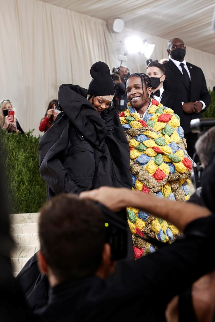A$AP Rocky and Rhianna
