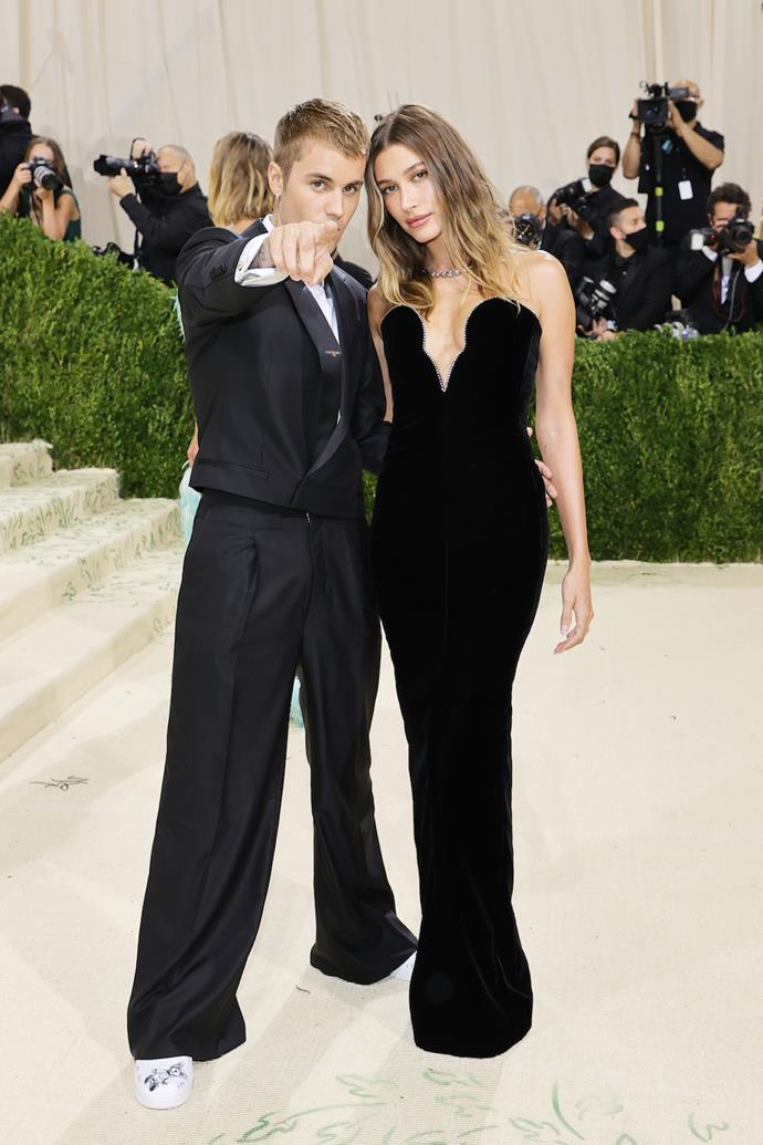 Hailey and Justin Beiber