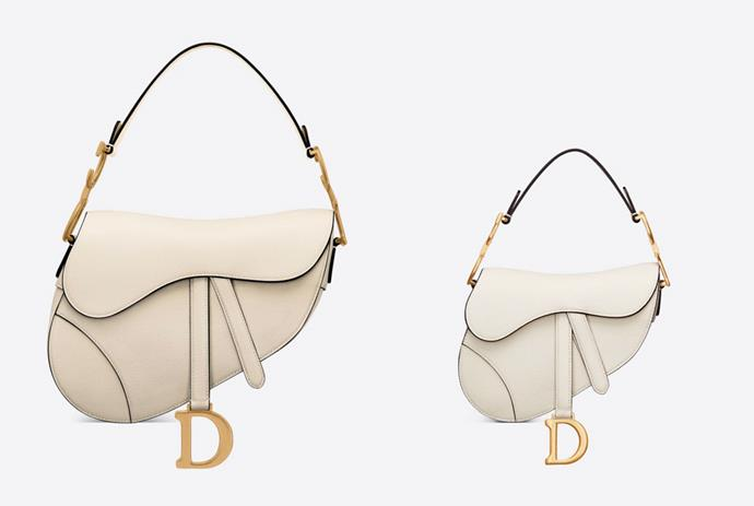 "* Latte grained calfskin satchel, $ 5,500;  Latte grained calfskin mini satchel, $ 4,700;  both of [Dior.com](https://www.dior.com/en_au/womens-fashion/woman?utm_source=instagram&utm_medium=social_epr&utm_campaign=global_branding_women_elle_all_post&utm_term=story&utm_content=ecommlaunch target=""_Empty""  rel =""no following""). *"