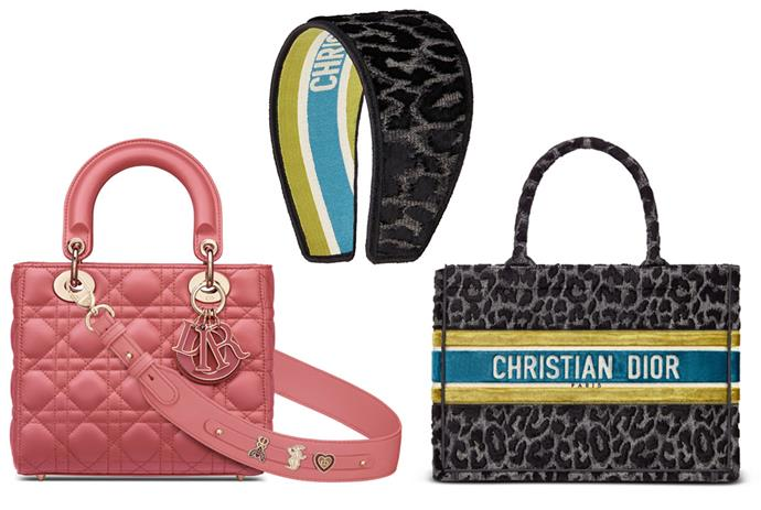 """* (Left - right): Lady Dior My ABCDIOR bag in Yarrow pink lambskin cannage, $ 7,300;  Gray embroidered velvet Mizza headband, $ 1,200;  Small Dior Book tote in gray Mizza embroidered velvet, $ 5,100;  all of [Dior.com](https://www.dior.com/en_au/womens-fashion/woman?utm_source=instagram&utm_medium=social_epr&utm_campaign=global_branding_women_elle_all_post&utm_term=story&utm_content=ecommlaunch target=""""_Empty""""  rel =""""no following""""). *"""