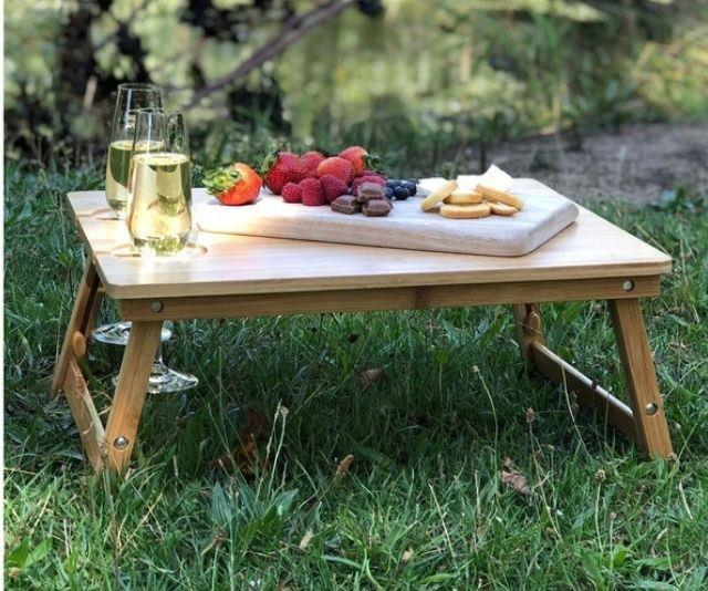 """The Ultimate Picnic Table, $69.95 from [Myer](https://www.myer.com.au/p/couchmate-picnic-mate-the-ultimate-picnic-table-by-couchmate target=""""_blank"""")"""