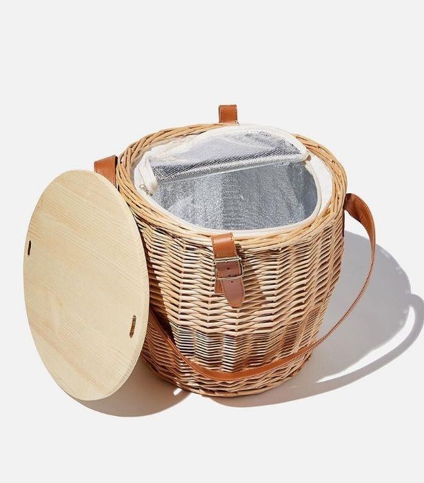 "Cottesloe Picnic Basket Large, $59.99 from [Cotton On](https://cottonon.com/AU/cottesloe-picnic-basket-large/4256170-02.html?dwvar_4256170-02_color=4256170-02&cgid=picnic-edit&originalPid=4256170-02#start=5 target=""_blank"")"