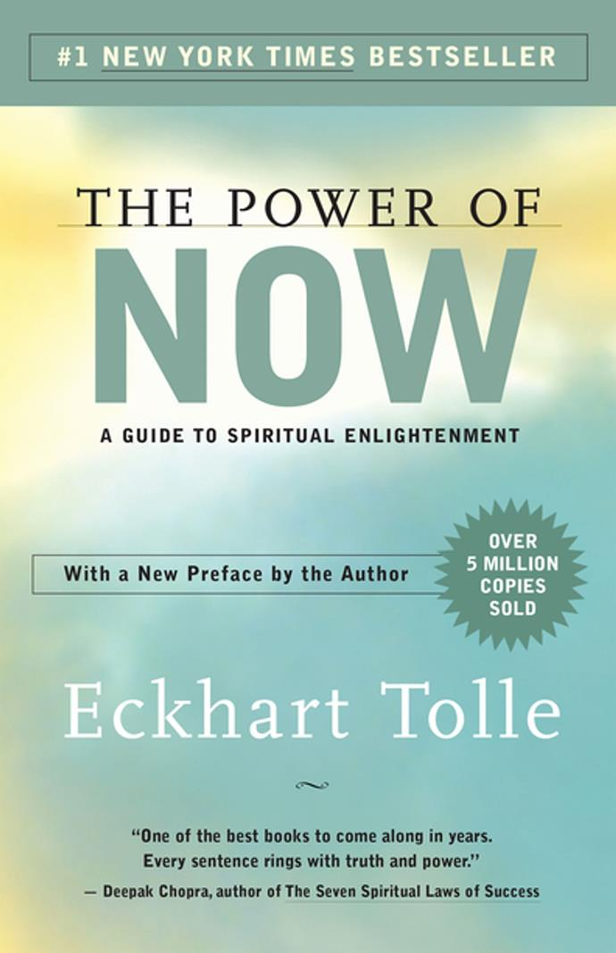 **The Power Of Now by Eckhart Tolle**<br></br> This book is a cult classic for a reason. Taking you on a spiritual journey to find your deepest self, the book is filled with practical advice that will revolutionise your approach to life. As the name suggests, it'll teach you the power of living in the now and how to shift your mindset for the better.