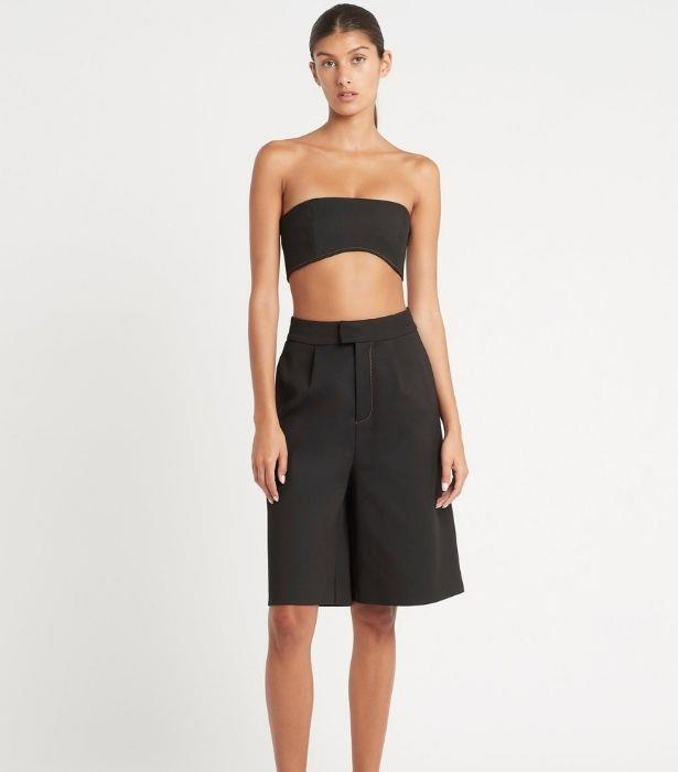 """**SIR Maxe Long Line Short, $320 from [SIR](https://sirthelabel.com/collections/sir-suiting/products/maxe-long-line-short