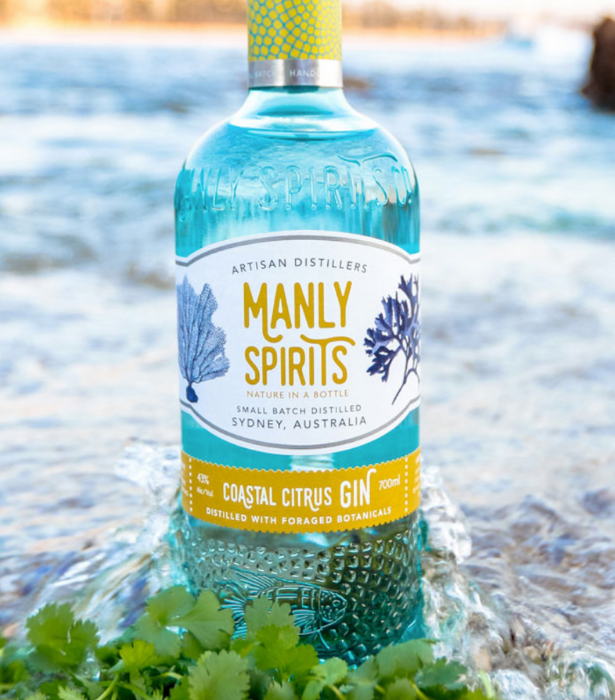 """**Manly Spirits Co** <br><br> From repurposing left over produce (think Gin soaked raspberries being turned into jam)  to upcycling their bottles into candles and, of course, sustainable foraging and production measures, Manly Spirits Co. has thought of everything. They make Gin, Vodka, Whisky and delicious pre-mixed options. <br><br> **Shop from [Manly Spirits Co](https://manlyspirits.com.au/ target=""""_blank"""") and [Dan Murphys](https://www.danmurphys.com.au/search?searchTerm=Manly+Spirits target=""""_blank"""")**"""