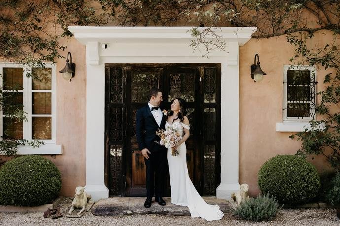 """""""We had 12 guests; we rented a boutique B&B in the Hunter Valley [Redleaf Wollombi], and because it was already so beautiful as a venue alone, we didn't need to do much styling.""""  [Photography: Hungry Hearts Co](https://hungryheartsco.com/