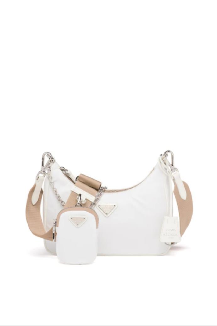 "**Re-Edition 2005 Re-Nylon Bag**, $2,360 at [Prada](https://www.prada.com/au/en/women/bags/shoulder_bags/products.prada_re-edition_2005_re-nylon_bag.1BH204_R064_F0009_V_V1L.html|target=""_blank""|rel=""nofollow"")"