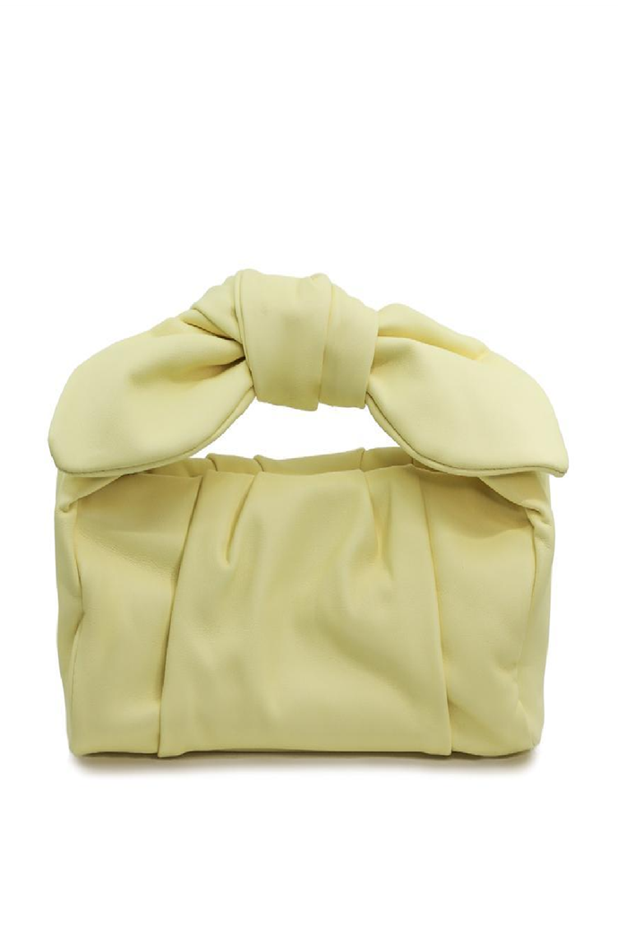 """**Ivy Bag**, $179 at [Katherineland](https://katherineland.com.au/collections/new/products/ivy-pastel-yellow