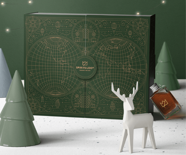 """**Mixed Spirits Advent Calendar, on sale $259 from [Whisky Loot](https://whiskyloot.com/products/2021-advent-calendar?variant=39455055577165