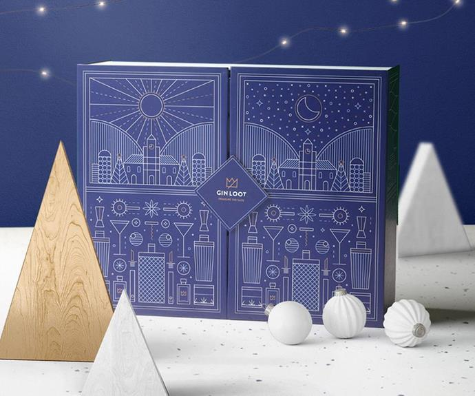 """**Gin Advent Calendar + Tonic, $319, [Gin Loot](https://ginloot.com/products/2021-advent-calendar?variant=41011585515698