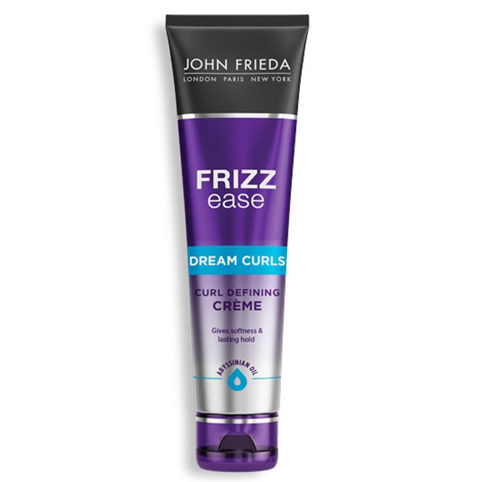 """**Frizz Ease Curl Defining Crème by John Frieda** <br><br> For those in need of soft curls with lasting hold, keep an eye out for John Frida's Frizz Ease Curl Defining Crème. Lightweight and crunch-free, the product offers the perfect balance of long-lasting softness and hold that maintains definition. <br><br> *Frizz Ease Dream Curls Curl Defining Crème by John Frieda, $10.19 at [Priceline](https://fave.co/3mHfCJf target=""""_blank"""" rel=""""nofollow"""").*"""