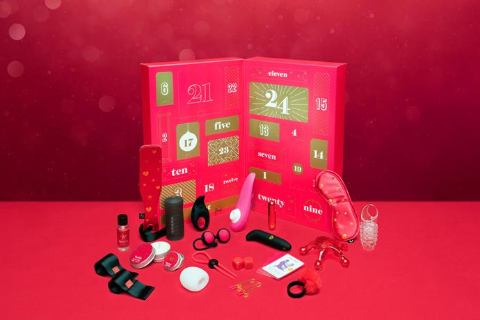 "Lovehoney Best Sex Of Your Life Couple's Sex Toy Advent Calendar, $225<br><br> *Shop [here](https://www.lovehoney.com.au/sex-toys/vibrators/sex-toy-kits/p/lovehoney-best-sex-of-your-life-couples-sex-toy-advent-calendar-man-woman/a45746g82342.html|target=""_blank""|rel=""nofollow"").*"