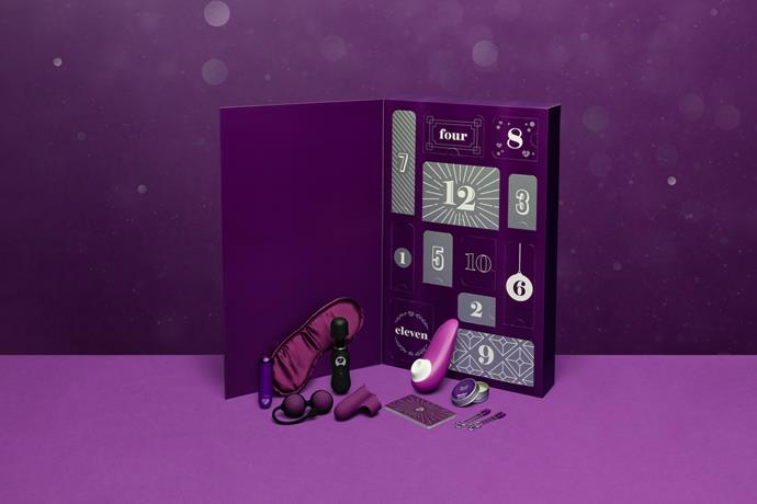 "Lovehoney 12 Days of Play Sex Toy Advent Calendar for Women, $170<br><br> *Shop [here](https://www.lovehoney.com.au/sex-toys/vibrators/sex-toy-kits/p/lovehoney-12-days-of-play-sex-toy-advent-calendar-for-women/a45748g82344.html|target=""_blank""|rel=""nofollow"").*"